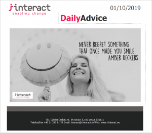 Daily Advice 1 octombrie 2019