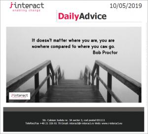 Daily Advice 10 mai 2019