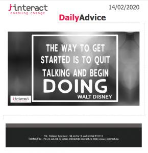 Daily Advice 14 februarie 2020