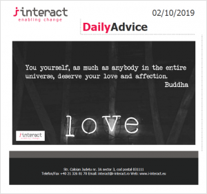 Daily Advice 2 oct 2019