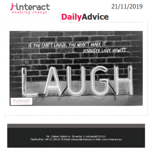 Daily Advice 21 noiembrie 2019