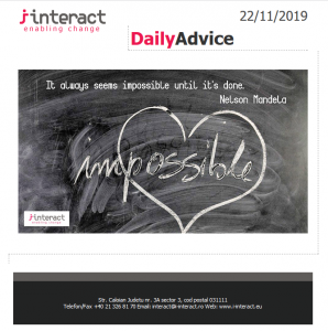 Daily Advice 22 noiembrie 2019