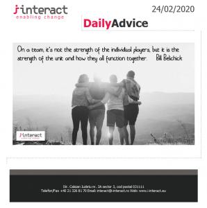 Daily Advice 24 februarie 2020