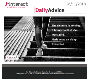 Daily Advice 26 noiembrie