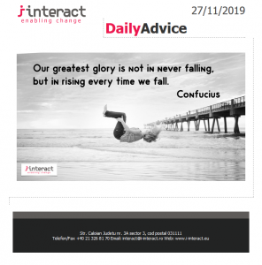 Daily Advice 27 noiembrie 2019