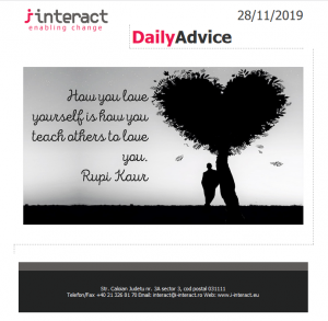Daily Advice 28 noiembrie 2019