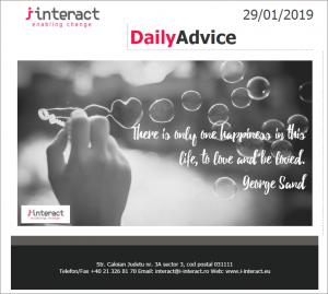 Daily Advice 29 ianuarie