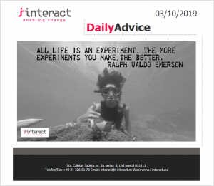 Daily Advice 3 octombrie 2019