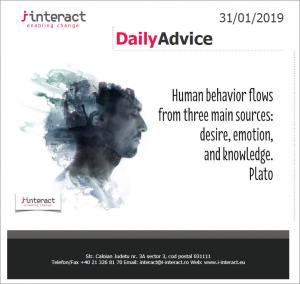 Daily Advice 31 ianuarie
