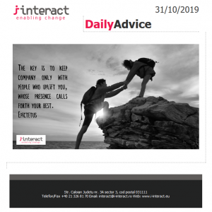 Daily Advice 31 octombrie 2019