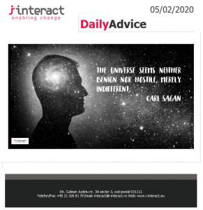 Daily Advice 5 februarie 2020