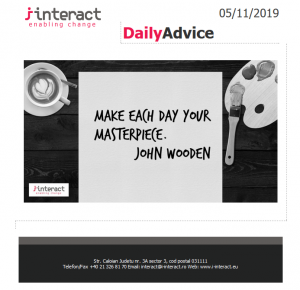 Daily Advice 5 noiembrie 2019