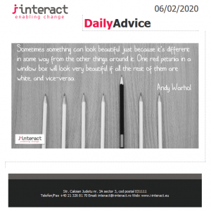 Daily Advice 6 februarie 2020