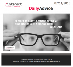 Daily Advice 7 noiembrie