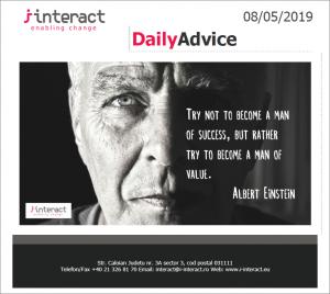 Daily Advice 8 mai 2019