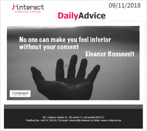 Daily Advice 9 noiembrie